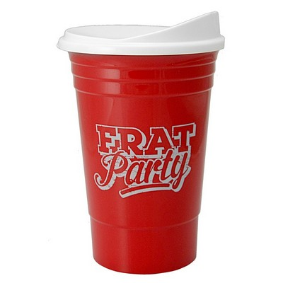 "The Cup ™ - 16 Oz. Double Wall Insulated ""Party"" Cup"